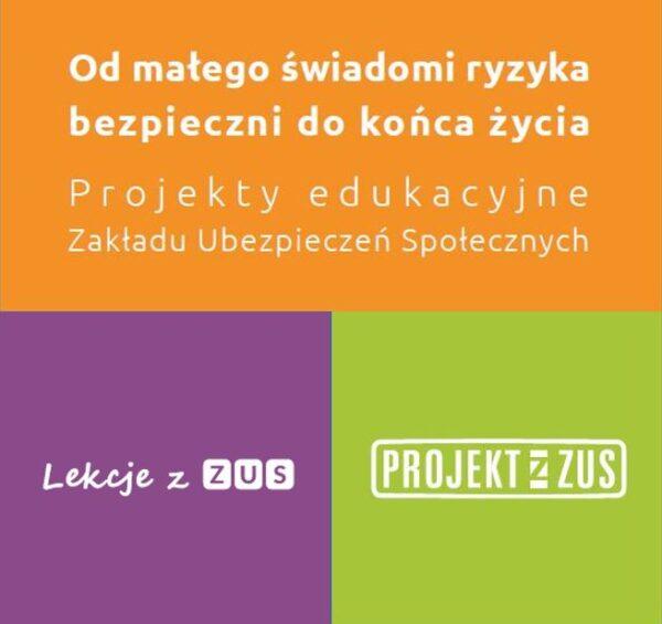 Plakat projekty ZUS