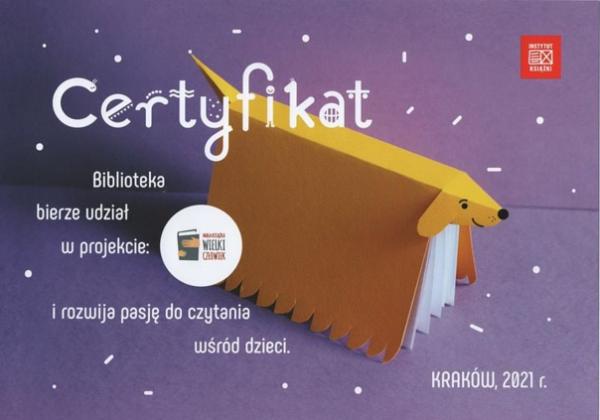 certyfikat - grafika